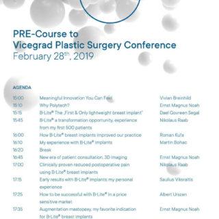 PRE Course & Visegrad Plastic Surgery Conference, 28 02 2019